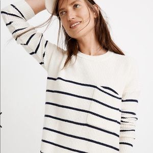 Madewell Pullover Nautical Stripe Sweater Size XXL
